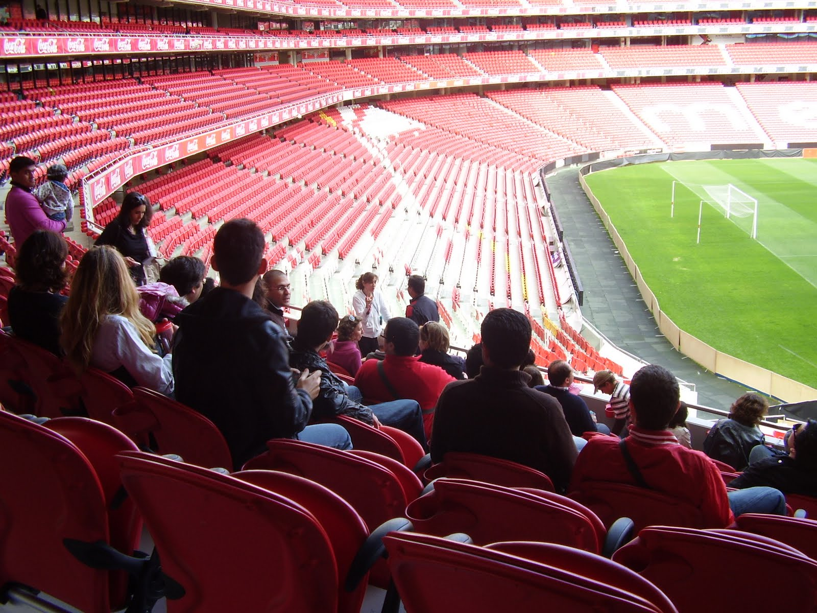 Catenaccio 2 sport lisboa e benfica fans twitter meeting for Piso 0 estadio da luz