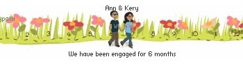 Happy 6 month Engagement Anniversary