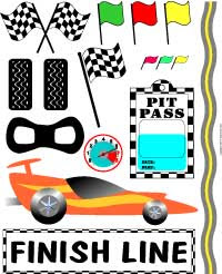 Nascar Auto Racing Free Clipart on Auto Racing Clip Art Set Here S A Full Sheet Of Cool Racing Graphics