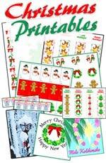 printable Christmas paper crafts