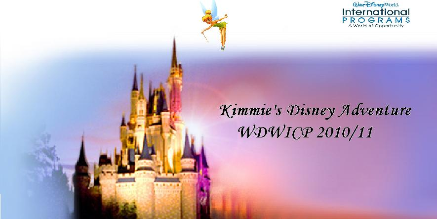 Kimmie's Disney Adventure