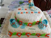 O bolo do baptizado