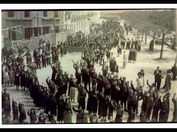 1º DE MAYO EN ZAFRA. 1936.