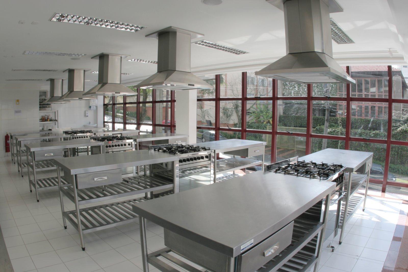 Cozinha industrial e a Estrutura de um restaurante Como quando e  #624040 1600 1067