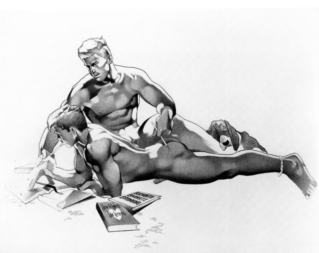 artist bush gay harry homoerotic