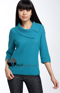 Ladies Sweaters With Collars