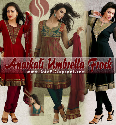 Anarkali Umbrella Frock dress | Kurti Styles | Salwar Kameez