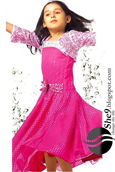 Kids2BParty2BWear2BwwwShe9blogspotcom - Beautiful Party Wear Kids Suits...