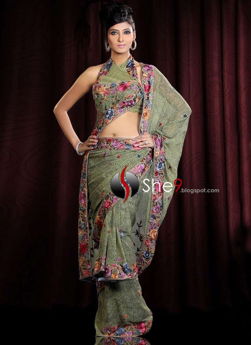 Saree Dress Modern
