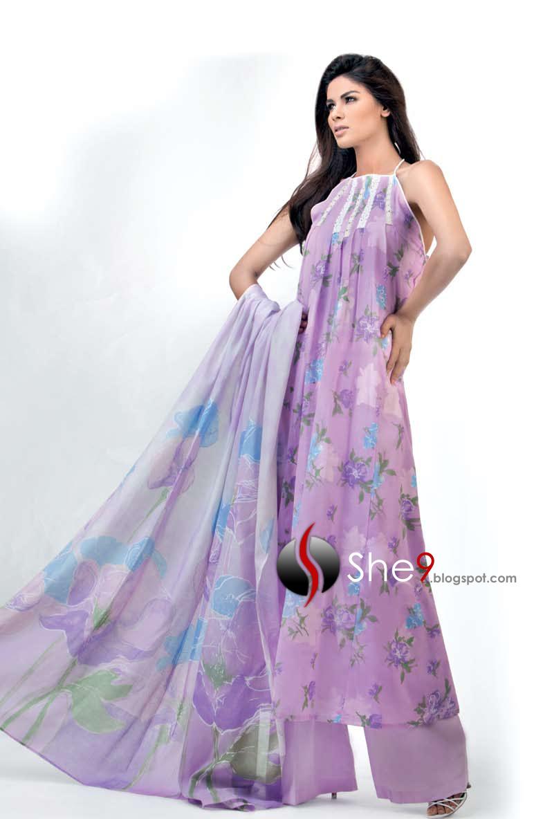 Gul Ahmed Latest Designs | New Asian Dresses 2010 - 11