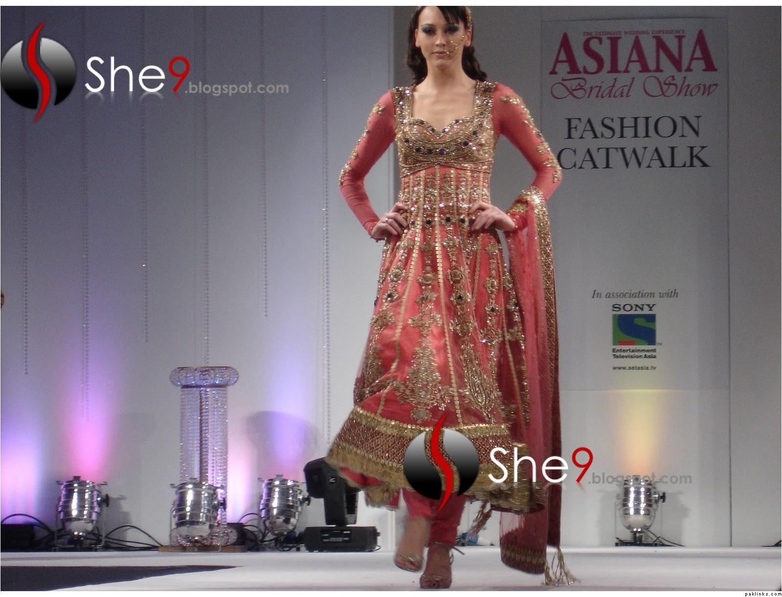 Anarkali Bridal Fashion Show | Asiana Bridal Collection ~ Womens World