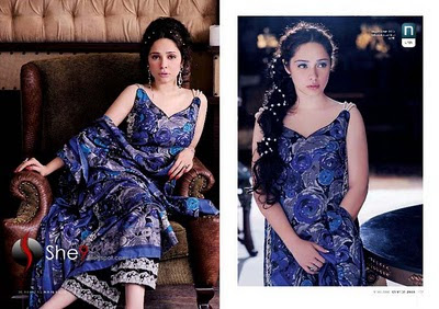 Latest Nishat Linen winter collection