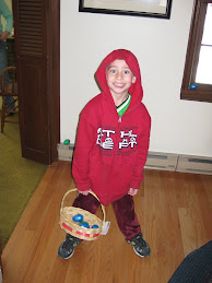 Joshua at the Easter Egg Hunt