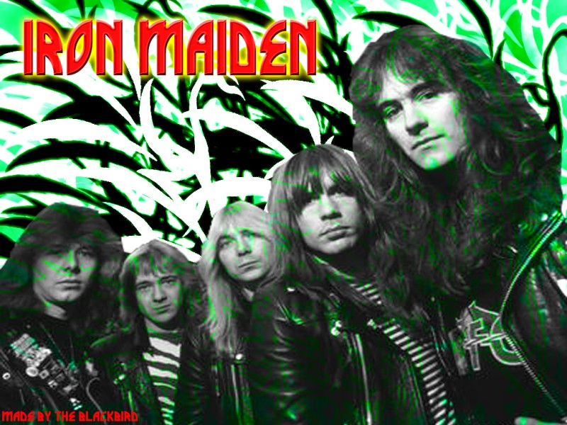 iron maiden wallpapers. ADDICTED TO MUSIC