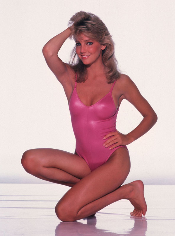 heather locklear vintage 1980s photoshoots heather locklear bikini