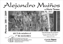 ALEJANDRO MUIOS, MUESTRA INDIVIDUAL