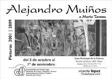ALEJANDRO MUIÑOS, MUESTRA INDIVIDUAL