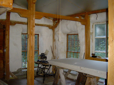 Sustainability thought and deed straw bale beauty for Straw bale house cost per square foot