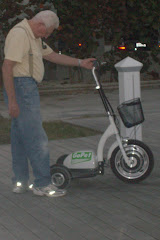 This is our new Personal Electric Transport...