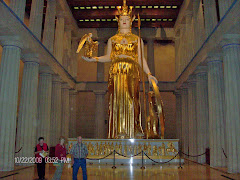 Alan LaQuire's 1990 re-creation of the Athena Parthenos.  She's 42 feet tall.