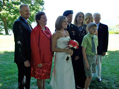 Mangelsdorfs, bride & groom.  Geoff, Amy,Tarryn, Austin, Linda Lee,Linda, young Pete & Fred