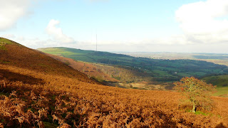 looking North from Moel-Y-Parc