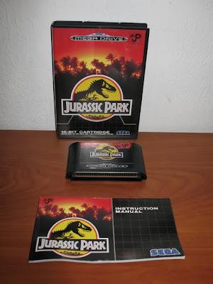 SEGA Megadrive : Jurassic Park