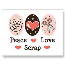 Peace  Scrap  Love