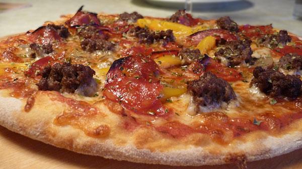 bedste pizza dej