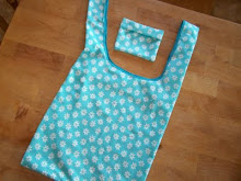 Handmade Fold Up Shopping Bags