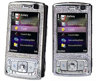 Diamonds at N95 8Gb Cellular Phone