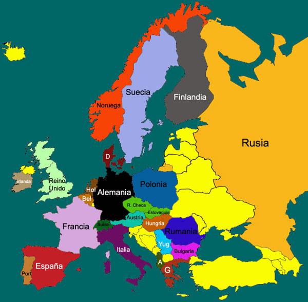 mapa de europa mudo. mapa de europa fisico.