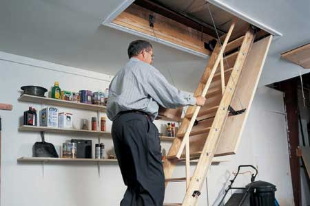 Midas The Benefits Of Pull Down Attic Stairs