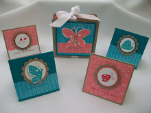 Garden Whimsy Card Holder Stamp Class instructions