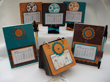 Circle Circus Calendar Stamp class Instructions