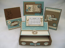 Just Believe Calendar Desk Set Stamp Class Instructions.