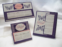 Style Beautiful CD Calendar Stamp Class