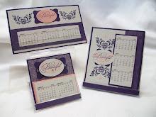Style Beautiful CD Calendar Stamp Class
