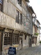 Honfleur les maisons Normandes