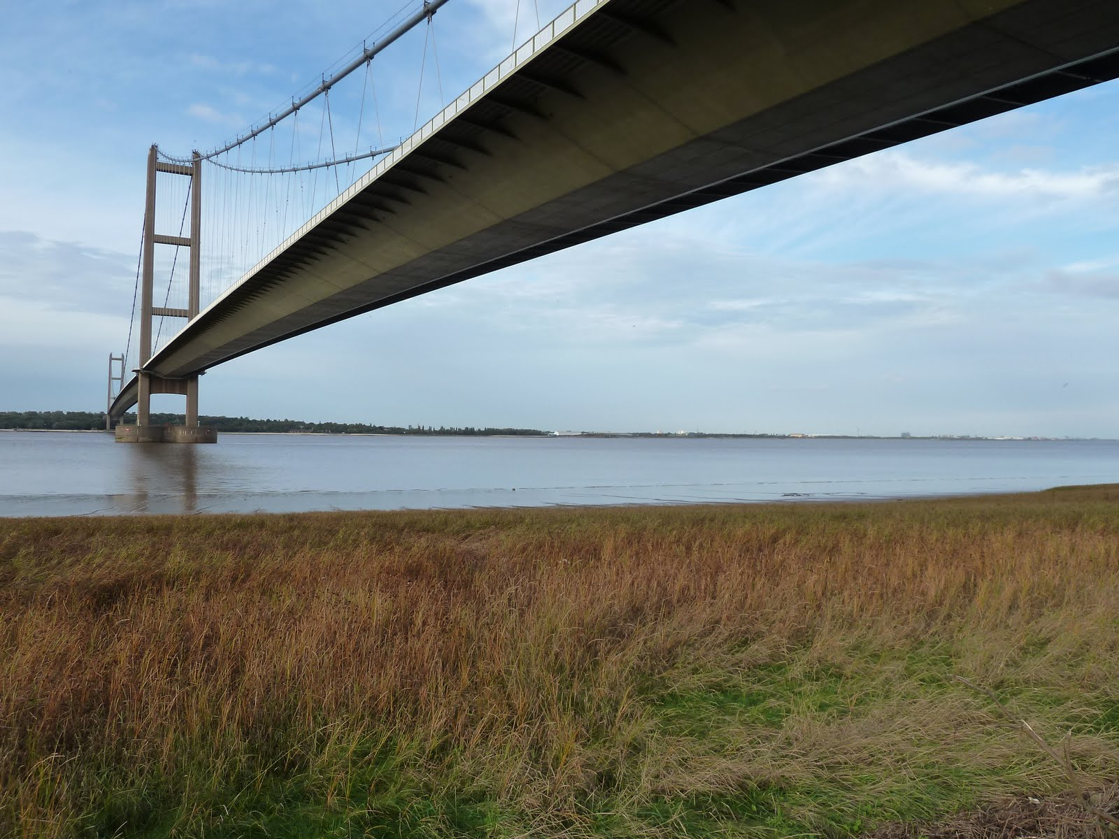 from the Severn Bridge and