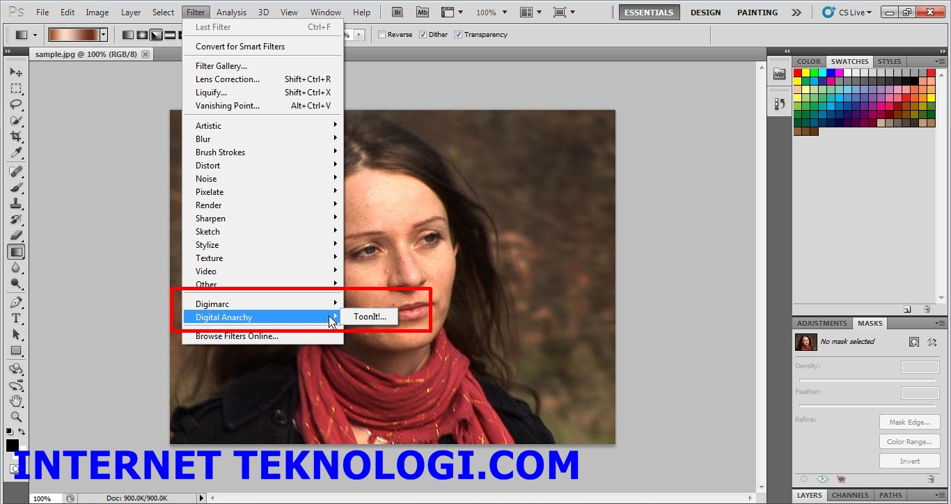 Digital anarchy toonit 2.6 1 plugin for photoshop x86 x64