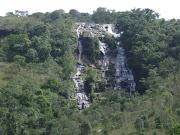 A cachoeira véu da noiva em carrancas