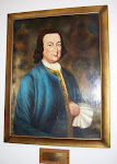 Oil portrait of George Mason in Mason County courthouse