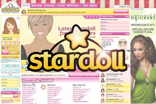 stardoll  games
