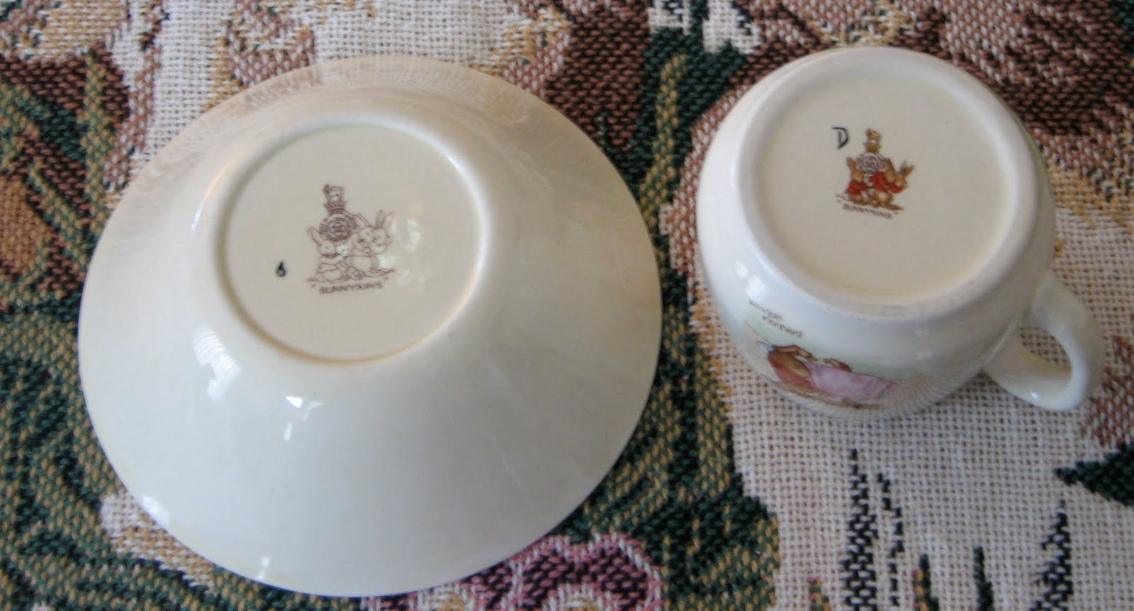 Teacup lane vintage royal doulton quot bunnykins quot signed by barbara