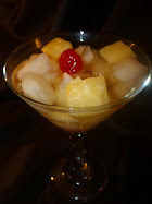 Pear and Pineapple Cocktail