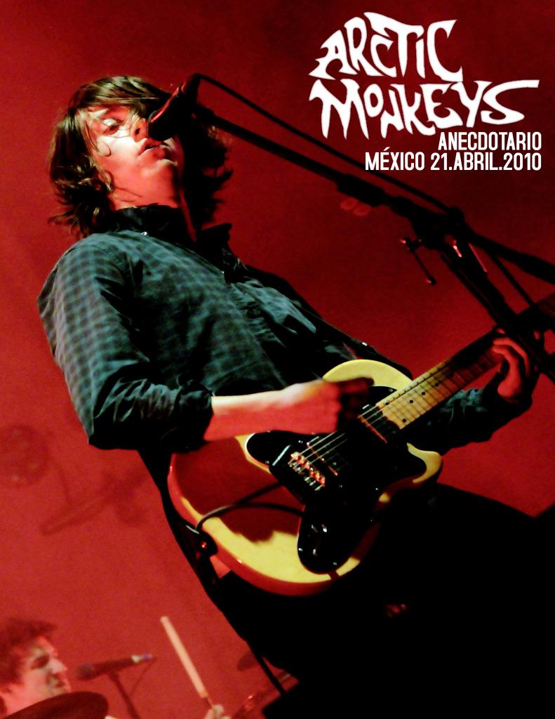 Arctic Monkeys en México Anecdotario