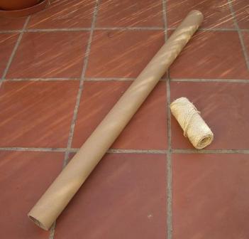 C mo hacer un rascador de cuerda para tu gato - Material de gimnasio para casa ...