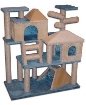 Consejos para comprar un rbol rascador de gatos - Casas para gatos baratas ...