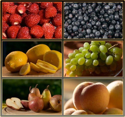 Berries, fruits - wallpapers